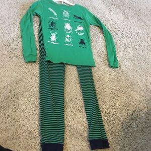 Boys size 10 Carter's bug pajamas